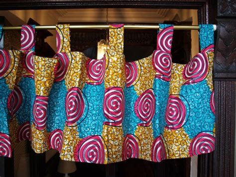 african print curtains african wax print valance curtains various patterns and
