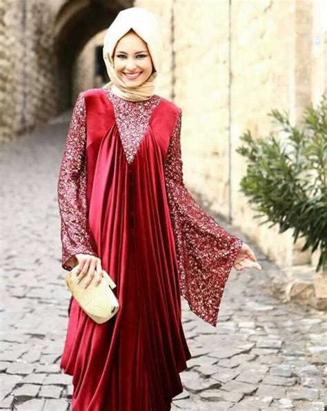 Muslim Maroon most wedding abayas 2016