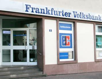frankfurter volks bank frankfurter volksbank gewerbe frankfurt am