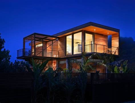 modern beach house houzz stinson beach house modern exterior san francisco