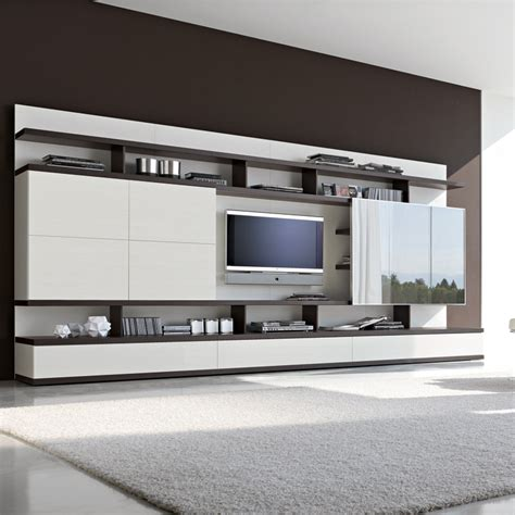 wall media unit fresh and inviting living room furniture by amode