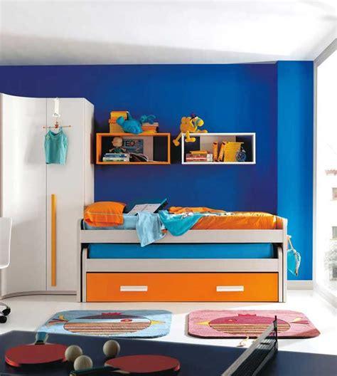 Orange Blue Room Decor by Bedroom Ides Room Furniture Ideas Photo