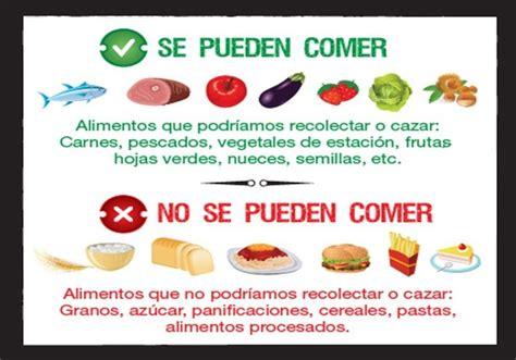 alimentos prohibidos dieta qu 233 se puede comer y qu 233 no en la dieta paleo