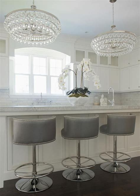 Kitchen Island Chairs With Backs by 25 Best Ideas About Kitchen Counter Stools On Pinterest