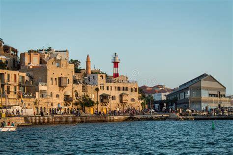porto di israele porto di israele giaffa immagine editoriale immagine di
