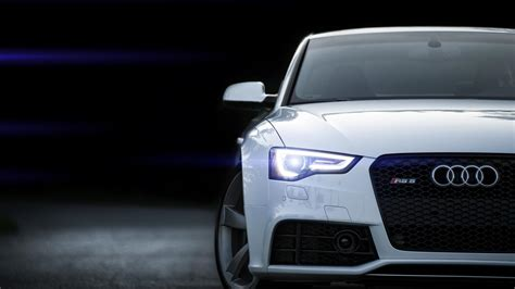 white front audi rs wallpaper