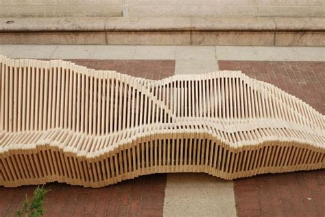 kinetic bench unique bench that can transformed with kinetic