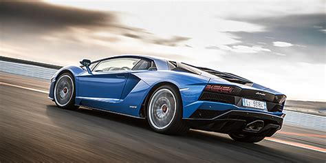 The Newest Lamborghini The New Lamborghini Aventador S Dynamic Launch In Valencia