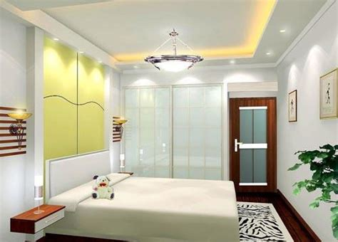Small Bedroom False Ceiling by