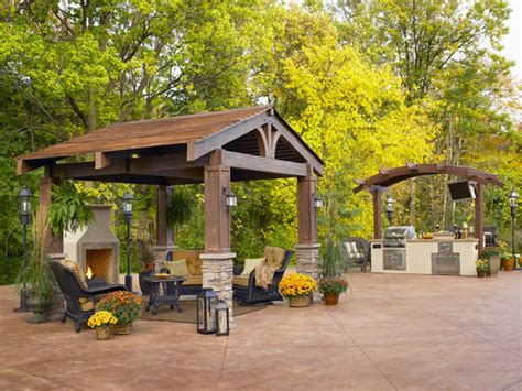 outdoor great room build your own wooden gazebo the texas811 org