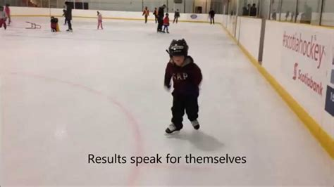 how to a three year 4 year learned to skate in 6 skates on balance blades