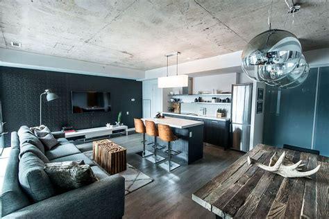 Chic Industrial Condo Loft in Toronto by LUX Design