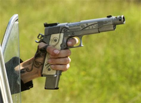 angelina jolie gun tattoo wanted movie gun tattoos and related stuff pinterest
