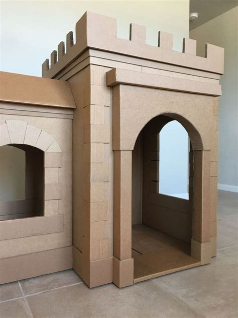 How To Make A Castle Out Of Cardboard And Paper - best 25 cardboard castle ideas on cardboard
