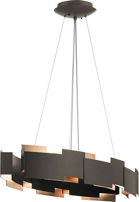 Kichler Island Lighting Kichler 42993ozled Moderne Contemporary Olde Bronze Led Island Lighting Kic 42993ozled