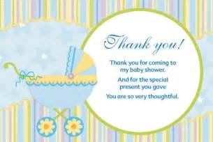 thank you cards for baby shower unique baby shower favors ideas