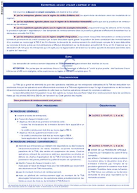 Cerfa Credit Impot Formation Dirigeant 2013 Cerfa N 176 11255 02 Demande De Remboursement De Cr 233 Dits De Taxes Tva Et Taxes Assimil 233 Es