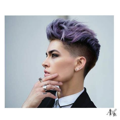edgy hairstyles for short hair short hair color androgynous x beast pinteres