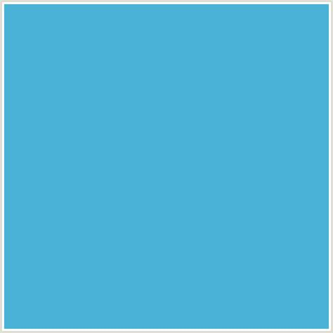 Light Blue Hex Code by 4ab2d6 Hex Color Rgb 74 178 214 Light Blue Shakespeare