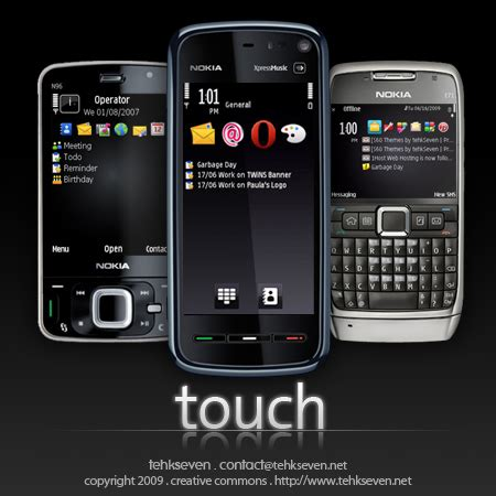 telecharger theme nokia e71 gratuit s60 theme touch zen by tehk7 on deviantart