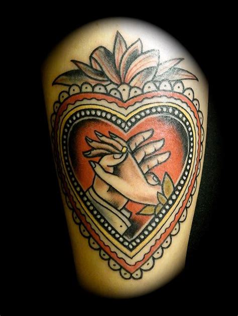 old school tattoo in hand really want a tattoo like this representing my husband and