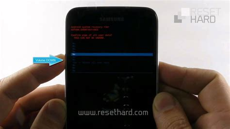 how to factory reset of samsung galaxy s5 android tips how to hard reset samsung galaxy s5 youtube
