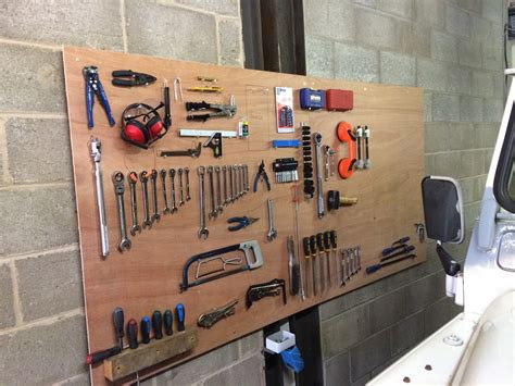Tool Board Garage by Diy Tool Board Tidy Up Your Garage Workshop Funrover