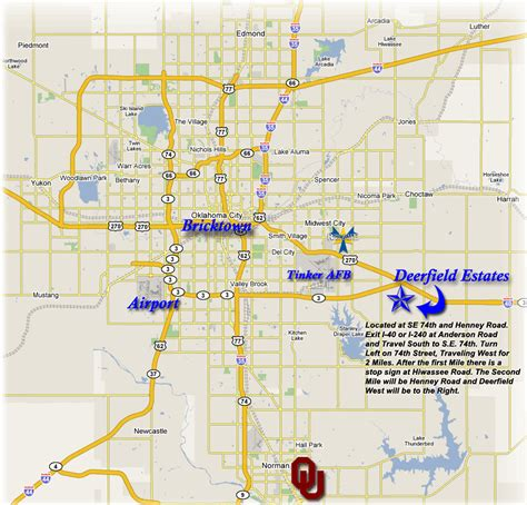 oklahoma city map free oklahoma map images frompo
