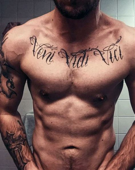 zyzz tattoo chest zyzz tattoo veni vidi vici www pixshark com images