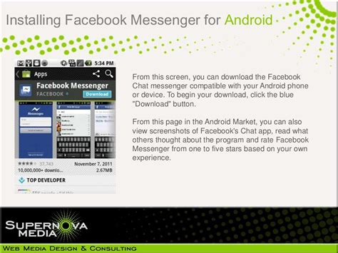 installing messenger for android - Install Messenger For Android