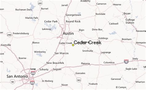 cedar creek texas map cedar creek weather station record historical weather for cedar creek texas
