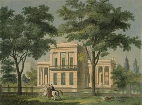 Building A House In Ct by American Architect Ithiel Town Born Today In History