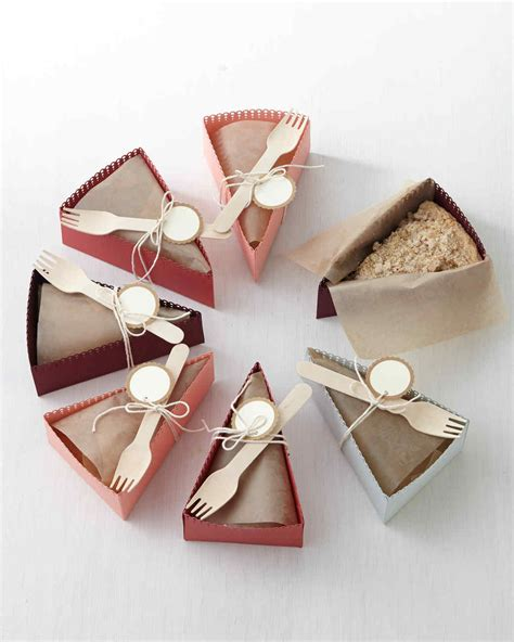 How To Make A Paper Pie - diy paper pie slice boxes martha stewart