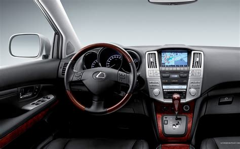 lexus rx black interior lexus rx 350 interior wallpaper 1920x1200 37174