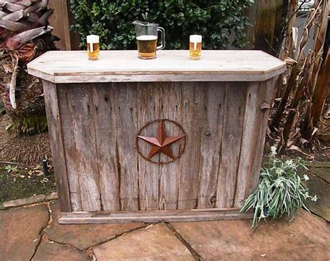 Handmade Bars - handmade rustic garden decor photograph made weather