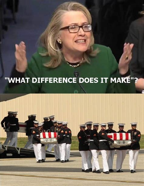 What Difference Does It Make Meme - hillary reveals america s nuclear response time during the