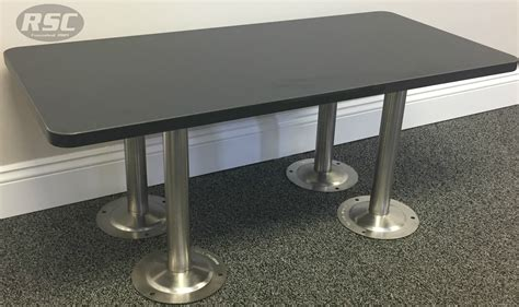 ADA Phenolic Locker Room Bench With 304 Stainless Steel