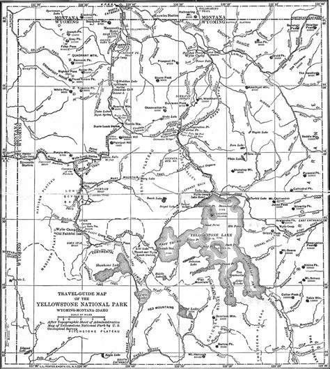 map reading and topographical sketching classic reprint books yellowstone np geological history of the yellowstone