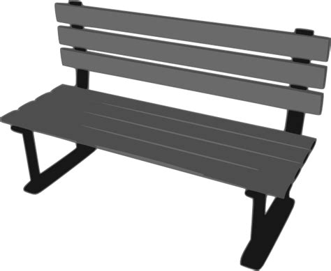 park bench clipart park bench clip art at clker com vector clip art online