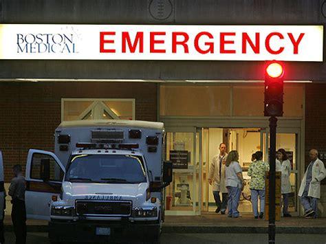 bmc emergency room boston center unit the boston globe