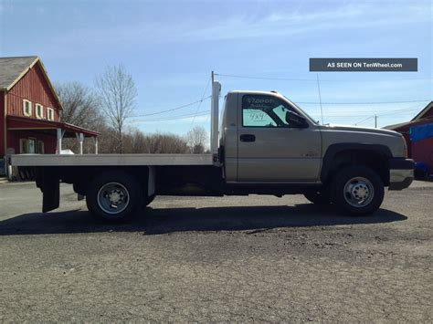 flat bed 2005 chevrolet silverado 3500 dually flatbed duramax