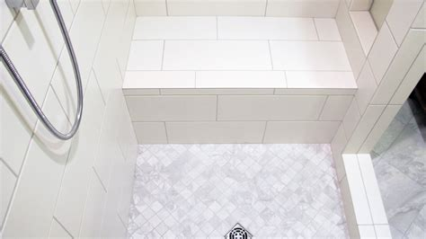 tile ready shower base with seat 100 tile ready shower bench showers schluter