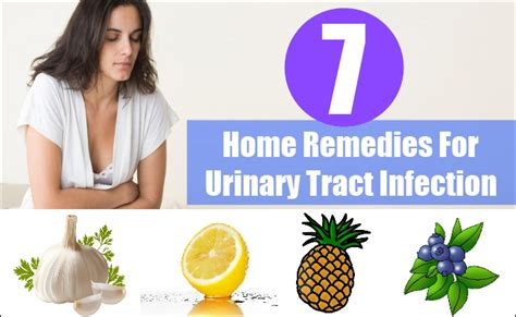 top 7 home remedies for urinary tract infection