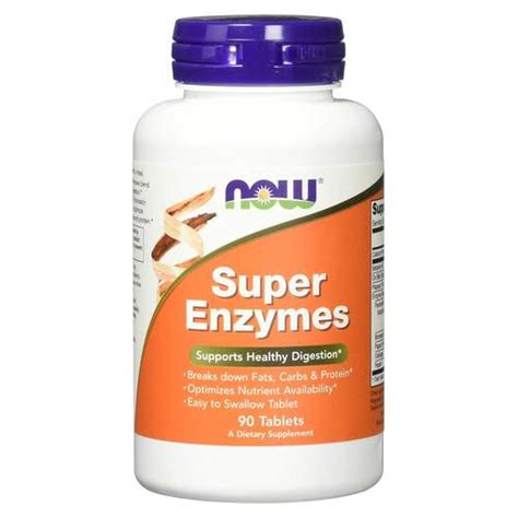 Now Enzyme Detox by Now Foods Enzymes 90 Tablets Evitamins