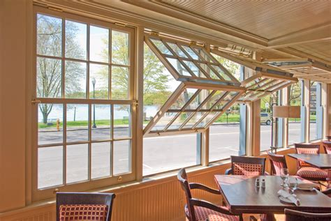 make window double hung with a twist foldup windows from heartwood