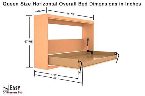 horizontal murphy bed plans best 25 murphy bed kits ideas on pinterest diy murphy