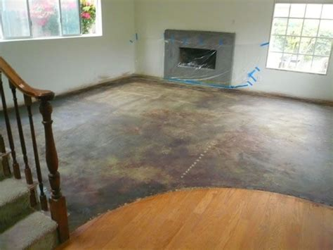 Garage Floor Paint Plywood 23 Best Images About Painted Cement Floors On