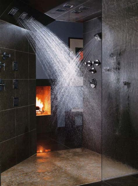 Fireplaces Bath by 21 Stylish Bathrooms With Fireplaces Home Design And