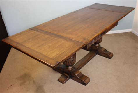 Farmhouse Dining Table With Leaf Antique Draw Leaf Farmhouse Kitchen Dining Table 282286 Sellingantiques Co Uk