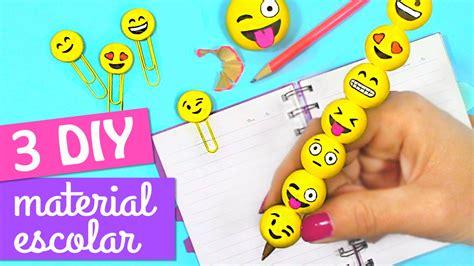 preguntas faciles y rapidas manualidades faciles 3 diy para la escuela de emojis diy